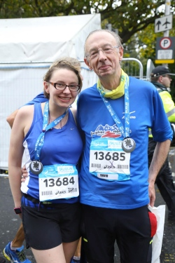 eleanor robinson and dad marathon